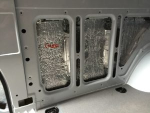 van insulated with Aluthermo (2)
