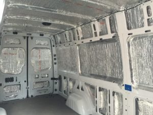 van insulated with Aluthermo (3)